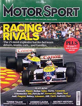 Motor Sport January 2020 - Velasor