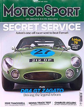 Motor Sport February 2020 - Velasor